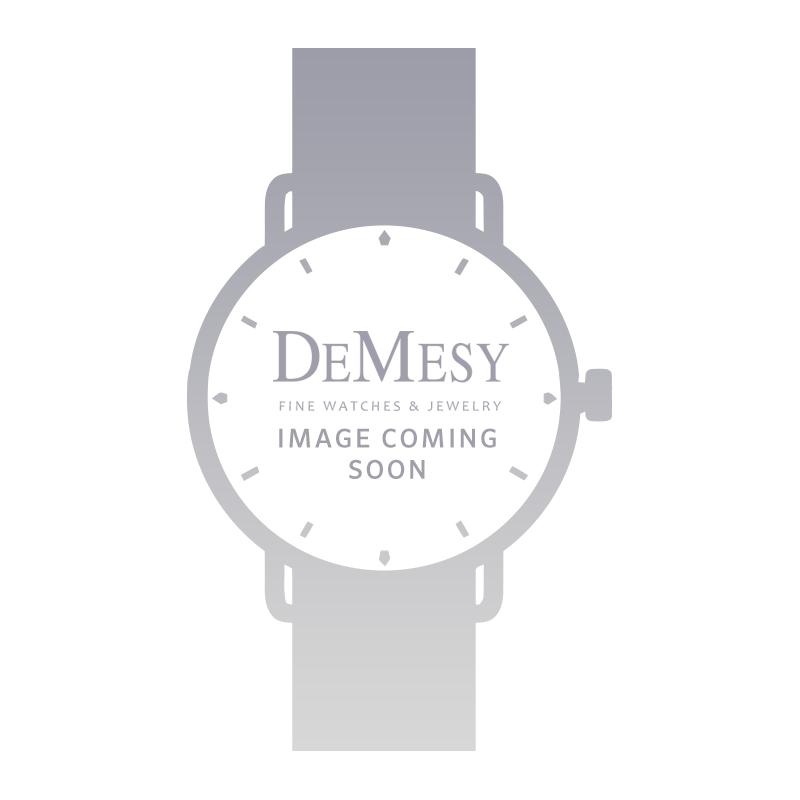 Rolex Ladies Glacier Blue Diamond Pearlmaster 18k White Gold Watch 80299