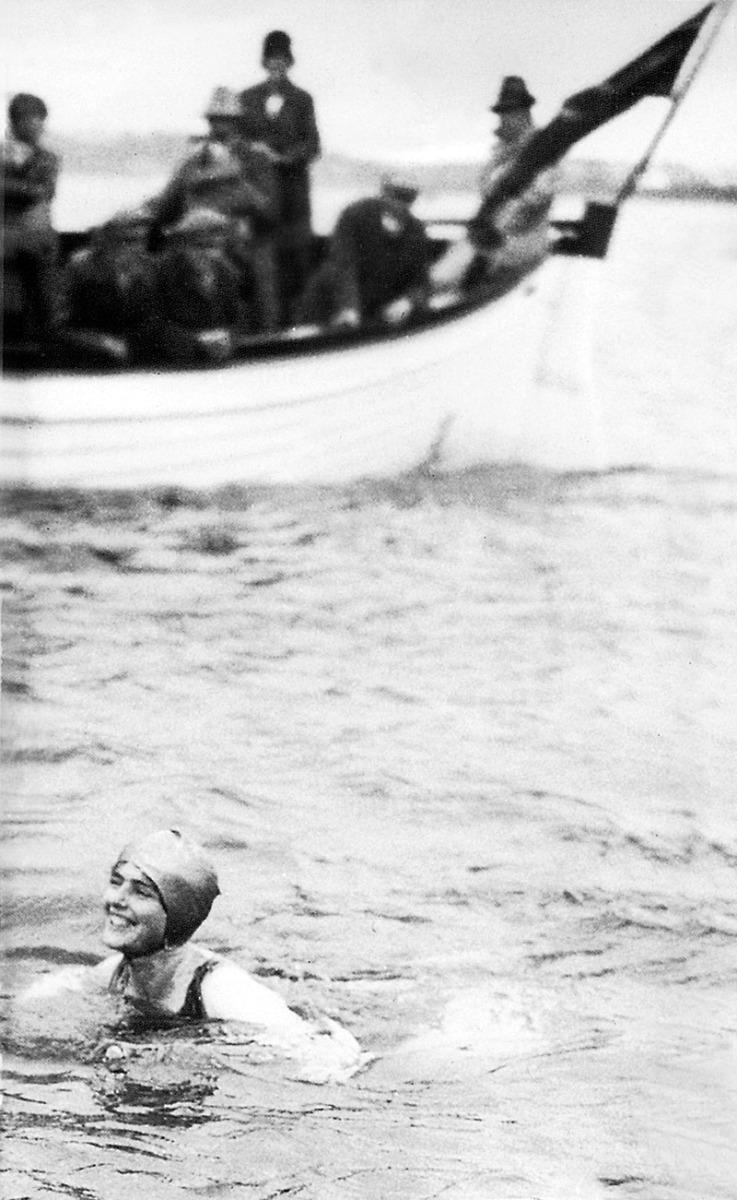 Merceds Gleitze Swim Image