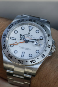 Rolex Explorer 216570 With White Dial