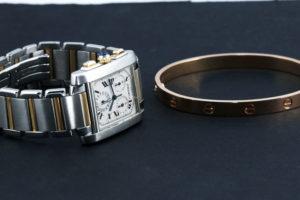 Cartier Tank & Love Bracelet